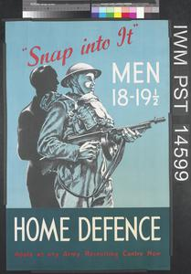 Snap into it - Men 18-19 1/2 - Home Defence