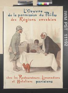 L'Œuvre de la Permission du Poilu des Régions Envahies [Charity for Leave for Soldiers from Invaded Regions]