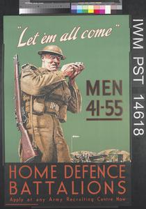 Let 'em All Come - Home Defence Battalions
