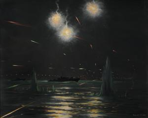 Night Action : Gun-boats off Le Tréport, 4th September 1943