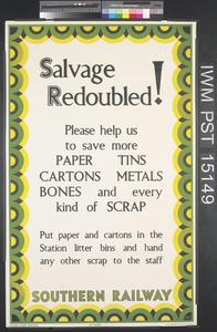 Salvage Redoubled!