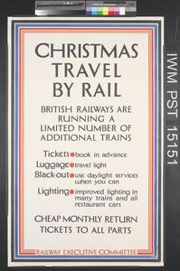 Christmas Travel by Rail