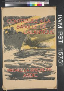 Contribuez à la Bataille de l'Atlantique [Contribute to the Battle of the Atlantic]
