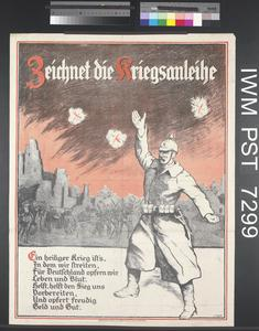 Zeichnet die Kriegsanleihe [Subscribe to the War Loan]