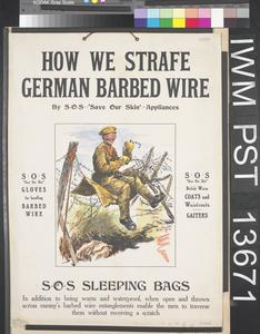 How We Strafe German Barbed Wire