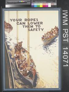 Your Ropes Can Lower them to Safety