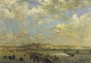 Dover Harbour, 1918
