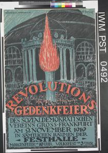 Revolutions Gedenkfeier [Celebration Commemorating the Revolution]