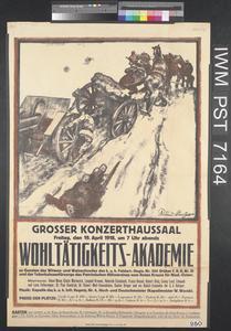 Grosser Konzerthaussaal - Wohltätigkeits-Akademie [Large Konzerthaus Hall - Charity Academy]