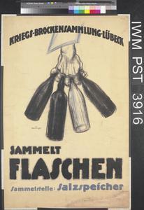 Kriegs-Brockensammlung-Lübeck [War Scrap Collection, Lübeck]