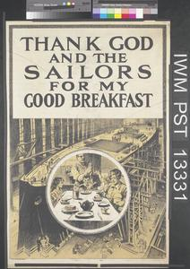 Thank God and the Sailors for My Good Breakfast