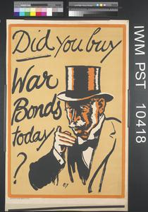 Did you Buy War Bonds Today?