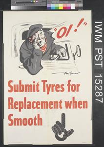 Submit Tyres for Replacement When Smooth