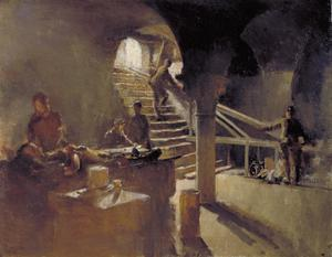 An Underground Casualty Clearing Station, Arras