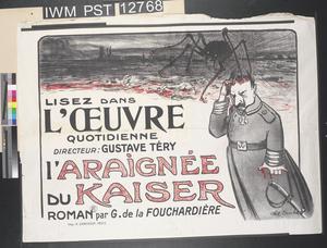 L'Araignée du Kaiser [The Kaiser's Spider]
