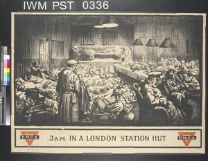 Three AM in a London Station Hut