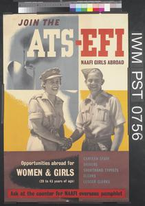 Join the ATS - EFI NAAFI Girls Abroad