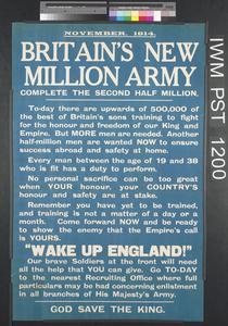 Britain's New Million Army