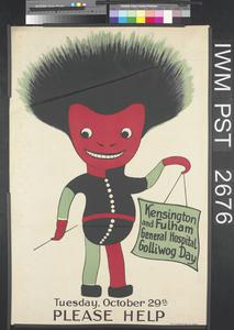 Kensington and Fulham General Hospital Golliwog Day