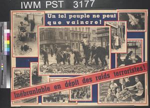Inébranlable en Dépit des Raids Terroristes! [Steadfast in Spite of the Terrorist Raids!]