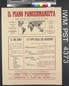 Il Piano Pangermanista [The Greater German Plan]