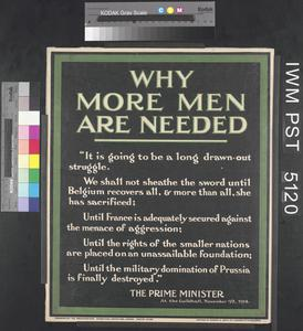Why More Men are Needed