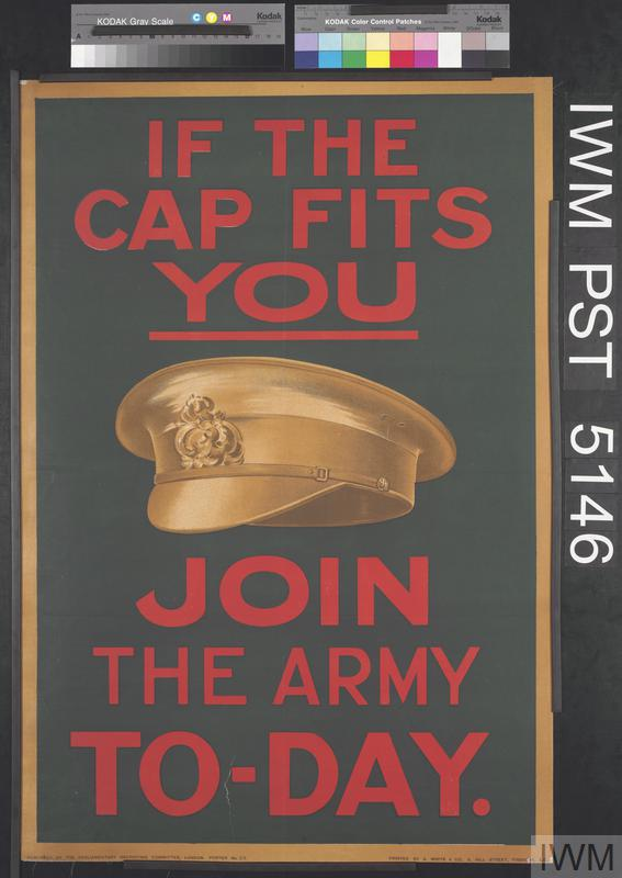 If The Cap Fits You Join The Army Today Art Iwm Pst 5146