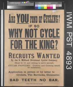 Are You Fond of Cycling?