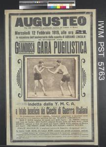 Grandiosa Gara Pugilistica [A Magnificent Boxing Meeting]