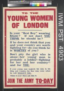 To the Young Women of London