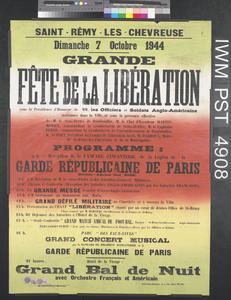 Grande Fête de la Libération [Great Liberation Celebration]