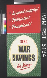 Send War Savings for Xmas