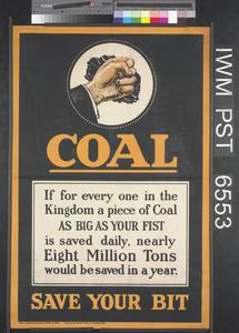 Coal - Save Your Bit