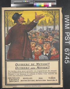 Ouvriers de Métier!! Ouvriers sans Métier!! [Skilled Workers!! Unskilled Workers!!]