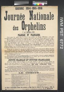Journée Nationale des Orphelins [National Orphans' Day]