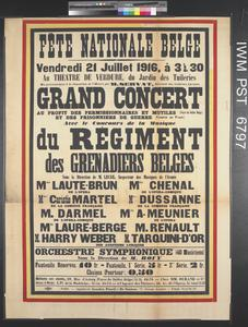 Fête Nationale Belge - Grand Concert