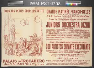 Tous les Petits pour les Petits - Grande Matinée Franco-Belge [By the Children for the Children - Grand Franco-Belgian Matinée]