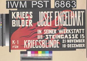 Kriegsbilder Josef Engelhart [War Pictures by Josef Engelhart]