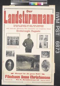 Der Landsturmmann [Member of the Landsturm, Home Reserve]