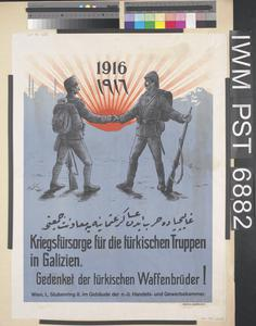Kriegsfürsorge für die Türkischen Truppen in Galizien [War Welfare for the Turkish Troops in Galicia]