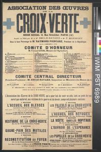 Association des Œuvres de la Croix Verte [Association of Charitable Works by the Green Cross]