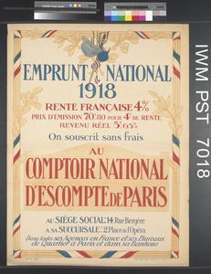 Emprunt National 1918 [National Loan 1918]