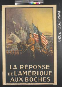 La Réponse de l'Amérique aux Boches [America's Answer to the Germans]