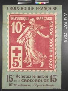 Croix-Rouge Française - Achetez le Timbre [The French Red Cross - Buy the Stamp]