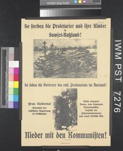 Nieder mit den Kommunisten! [Down with the Communists!]