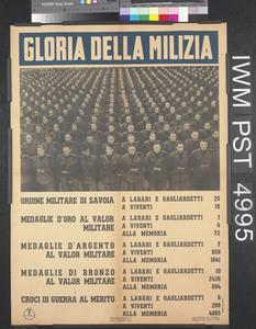Gloria della Milizia [Glory of the Militia]