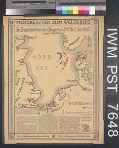 Merkblätter zum Weltkrieg - Die Seeschlacht vor dem Skagerrak [World War Leaflets – The Sea Battle of the Skagerrak]