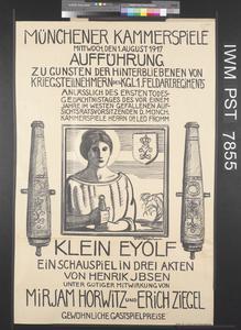 Münchener Kammerspiele [Munich 'Kammerspiele' (Little Theatre)]