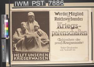Helft unseren Kriegerwaisen [Help our War Orphans]