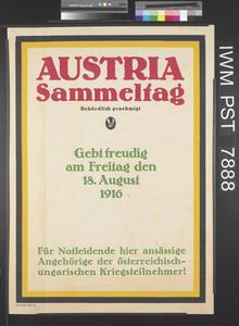 Austria Sammeltag [Austria Collection Day]